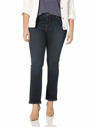 SLINK Jeans Women's Plus Size Summer STRAIGHTLEG 22
