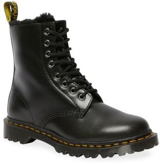Dr. Martens 1460 Serena Faux-Fur Lined Combat Boots