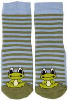 Country Kids Slipper Frog Animal Print Socks, (Manufacturer Size:)