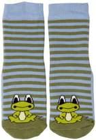 Country Kids Slipper Frog Animal Print Socks