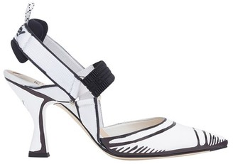 Fendi Colibri in white leather