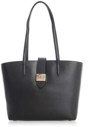 DKNY Lyla Tote Sutton Textured Leather