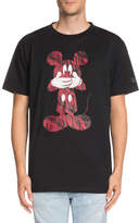 Marcelo Burlon County of Milan Contrast Mickey Mouse-Graphic T-Shirt