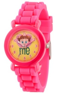 EWatchFactory Girl's Disney Toy Story 4 Gabby Gabby Pink Plastic Time Teacher Strap Watch 32mm