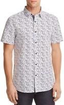 Sovereign Code Culley Splatter Regular Fit Button-Down Shirt