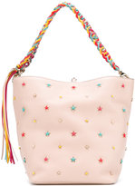 RED Valentino stars studded tote - women - Calf Leather - One Size