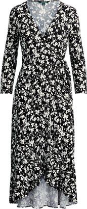 Ralph Lauren High-Low Jersey Dress