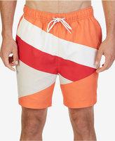 "Nautica Men's Coastal Colorblocked 7 1/2"" Swim Trunks"