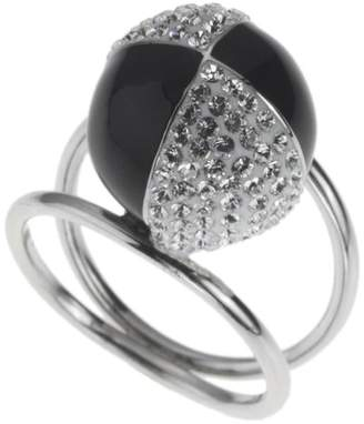 Evoke Balls Ladies' Ring with Real Swarovski Crystals 925 Sterling Silver EU Size 57 mm 269270001-018