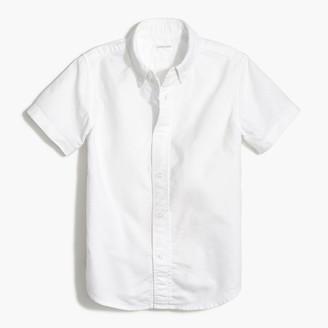 J.Crew Boys' short-sleeve oxford shirt