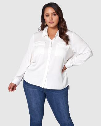 Something 4 Olivia Lisette Pocket Detail Shirt