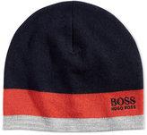 HUGO BOSS Men's Logo Beanie
