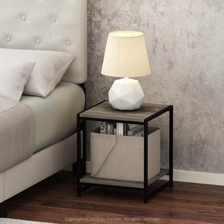 Brayden Studio Schkyra Sled End Table Color: Columbia Walnut