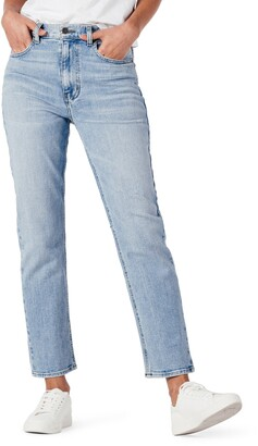 Modern American Lafayette High Waist Ankle Straight Leg Jeans