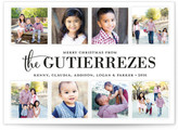 Minted Family Album Holiday Postcards