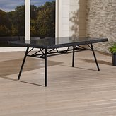 Crate & Barrel Calistoga Rectangular Dining Table
