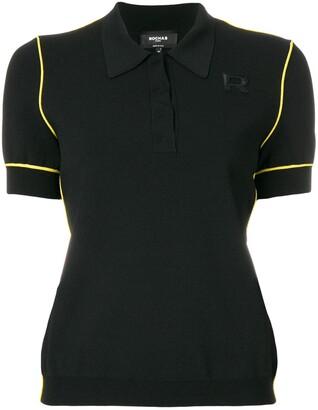 Rochas Logo-Embroidered Polo Shirt