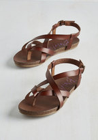 Blowfish LLC Everyday Nonchalance Sandal in Brown