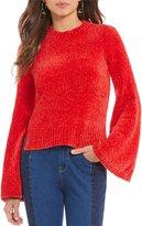 Gianni Bini Ellen Chenille Bell Sleeve Sweater
