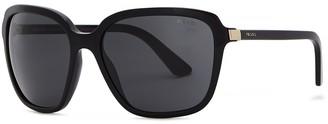 Prada Black Oversized Sunglasses