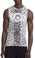 Versace Logo Greca Print Tank