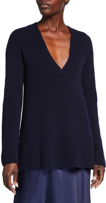 Vince Clean Rib Wool-Cashmere Tunic