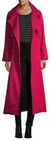 Temperley London Melania Raglan Double Breasted Coat