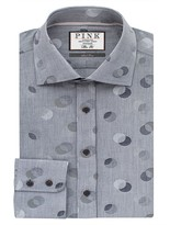 Thomas Pink Ferry Dot Texture Slim Fit Dress Shirt - Bloomingdale's Regular Fit