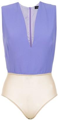 Andrea Marques Sleveless Bodysuit