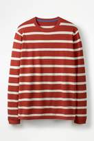 Mens Boden Red Cotton Linen Jumper