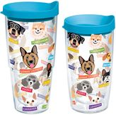 Tervis Flat Art Dog Breed Wrap Tumbler