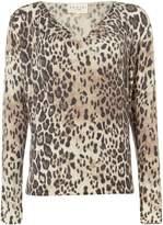 Damsel in a Dress Leopard Print Top