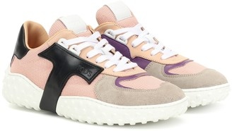 Tod's Mesh and leather sneakers