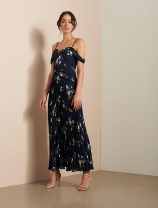 Ever New Sahara Pleated Maxi Dress