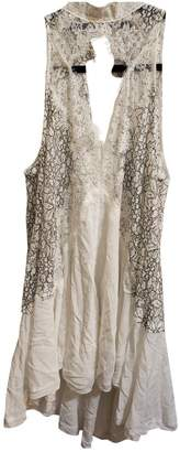Free People White Lace Dresses