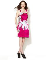 Thread Social Silk Blossom Print Halter Dress