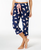 Jenni by Jennifer Moore Printed Capri Pajama Pants, Only at Macy's