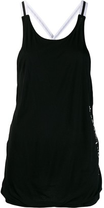 Perfect Moment T-Back bonded jersey top