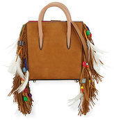 Christian Louboutin Paloma Nano Loubibird Leather Tote Bag, Brown