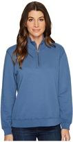 Mod-o-doc 1/2 Zip Funnel Women's Sweatshirt