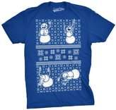 Crazy Dog T-shirts Crazy Dog Tshirtsens Drunk Snowen Ugly Christas Sweater Funny T shirt ROYAL