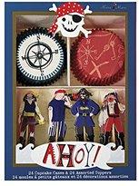 Meri Ahoy There Pirate Cupcake Kit