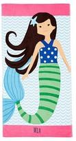 Pottery Barn Kids Mermaid Mini Beach Towel, Brown