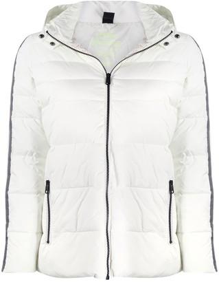 Ecoalf Croset quilted hooded jacket