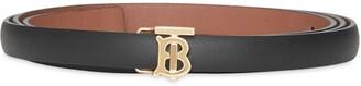 Burberry Reversible Monogram Motif Wrap Belt