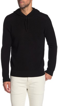 Michael Kors Waffle Knit Hooded Pullover