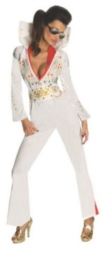 BuySeasons Women's Sassy Elvis Adult Costume