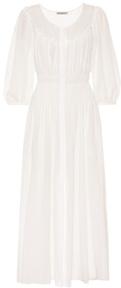 Three Graces London Arabella cotton maxi dress