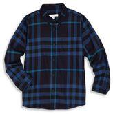 Burberry Little Boy's & Boy's Mini Fred Check Shirt