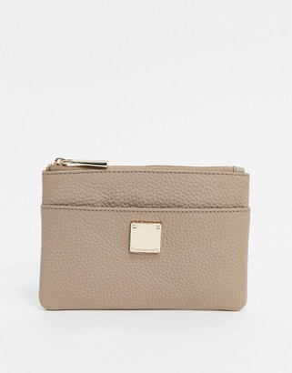 Paul Costelloe Leather Pure With Eyelt Detail In Brown